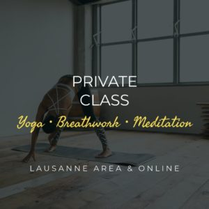 Private Class Yoga Breathwork Meditation Lausanne Area and Online - Soul Dimension