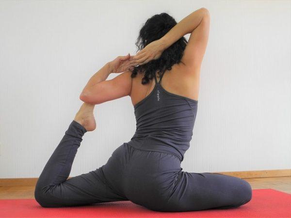 Sylvie Horvath teaching Awakening Yoga