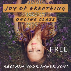 Joy of Breathing Free Class Flyer