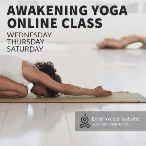 Online Awakening Yoga Class