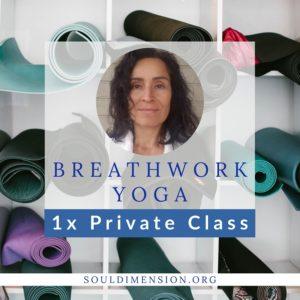 Product 1x Breathwork Yoga Private Class