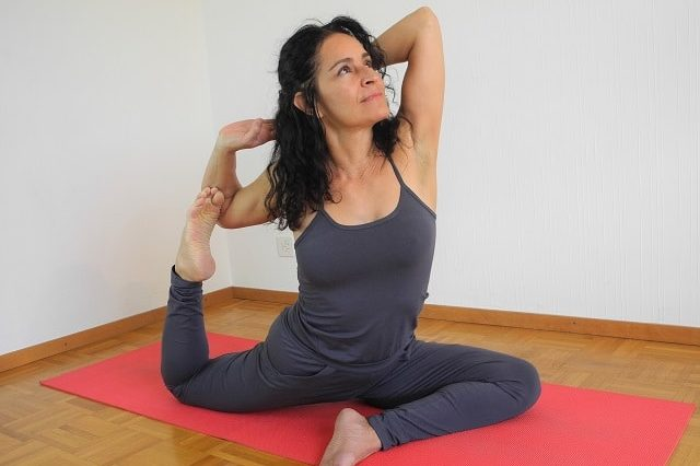Sylvie Horvath teaching Awakening Yoga
